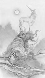 The Last Unicorn by puimun