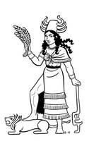 Inanna by A-gnosis