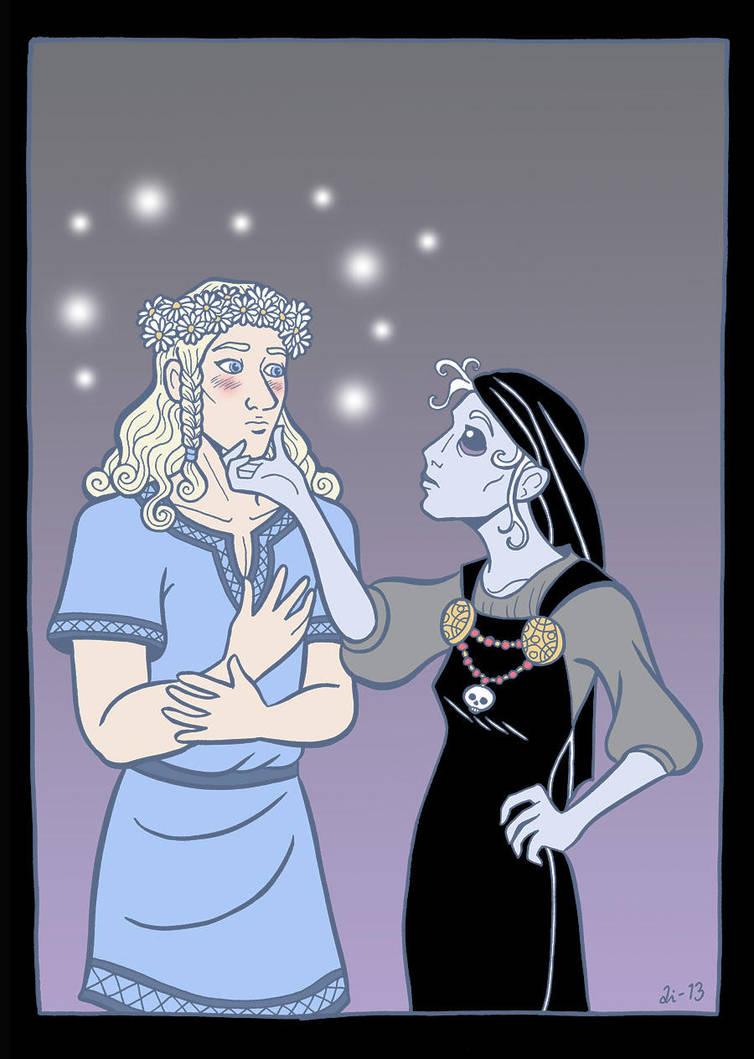 Baldur in Hel by A-gnosis