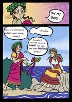Dionysos and Ariadne by A-gnosis