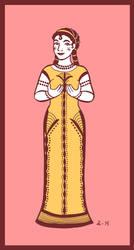 Golden Aphrodite by A-gnosis