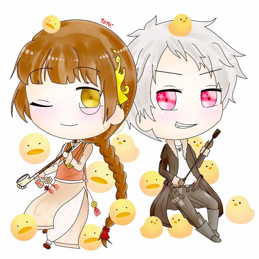 Peking Duck and Prussia by ElxyYoYo