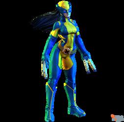 MH - X-23 (All New Wolverine) by MrUncleBingo