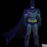 BAK - Batman (Arkham Asylum) by MrUncleBingo