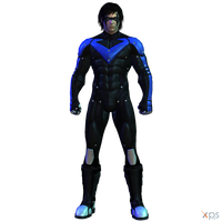 BAK - Nightwing (Arkham City) by MrUncleBingo