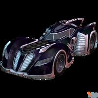 BAK - Batmobile (Arkham Asylum) by MrUncleBingo