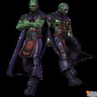 IGAU - Martian Manhunter by MrUncleBingo