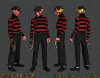 Freddy Krueger by MrUncleBingo