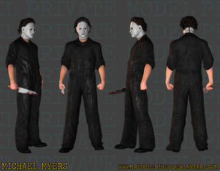 Michael Myers by MrUncleBingo