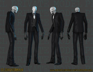 Slenderman by MrUncleBingo