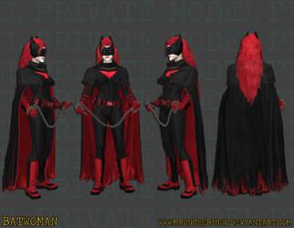 Batwoman by MrUncleBingo
