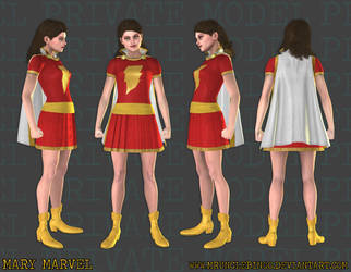 Mary Marvel by MrUncleBingo