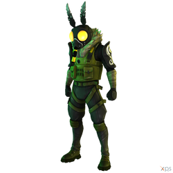 Fortnite - Moth Man (Without Wings) by MrUncleBingo