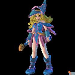 Jump Force - Dark Magician Girl by MrUncleBingo