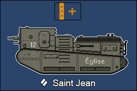 Saint Jean Medium Tank by Panzerbyte