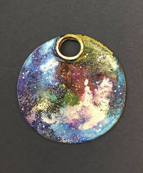 Space Pendants by sillysarasue