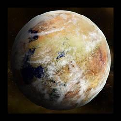 Sand Planet by Rabieshund