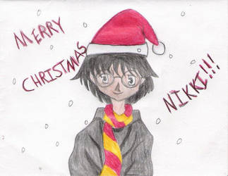 HP - Merry Christmas Nikki by gryffindor