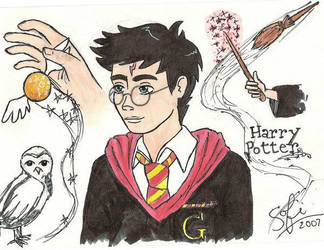 Harry Potter 2 by gryffindor