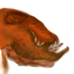 Xenoscolopendra head by Parazit2016