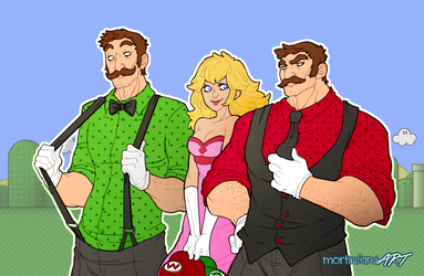 It's me, Mario! by mortinfamiART