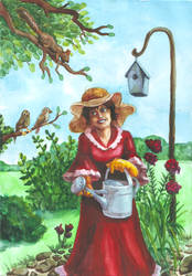 Gardener by Mellindor