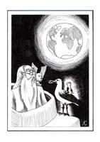 Roverandom - illustration by Mellindor