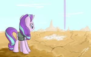 Mystery in the Desert by el-bojo