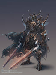 The Skeleton Knight by ChaoyuanXu