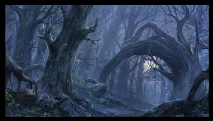 The Misty Wood by ChaoyuanXu