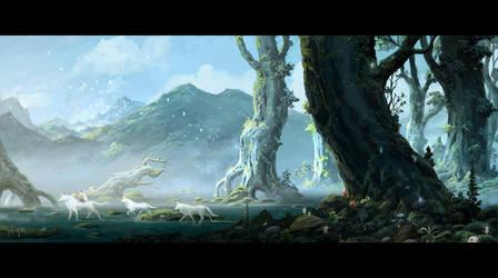 Princess Mononoke by ChaoyuanXu