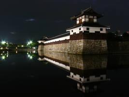 Hiroshima castle II by andrearossi