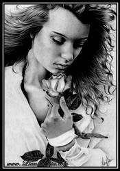 Kiss from a Rose by Lianne-Issa