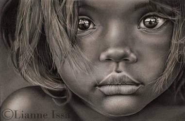 Little Girl Brazil by Lianne-Issa
