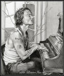 Johnny on the Piano by Lianne-Issa