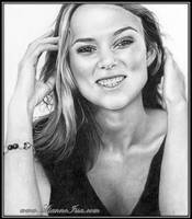 Keira's beautiful smile by Lianne-Issa
