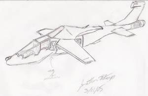 Concept Gunship by PilotstroupF15E