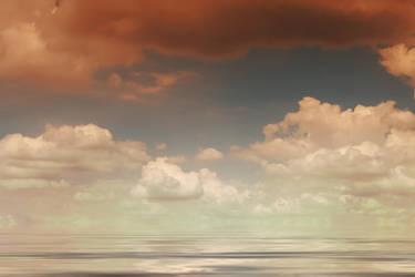 Sky reflections by photofenia
