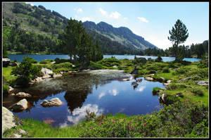 Lenn Auber - Auber lake by Pebekanao