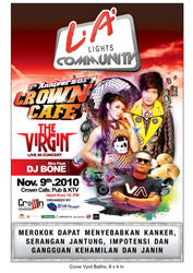 5TH ANNIVERSARY CROWN CAFE by Janitra