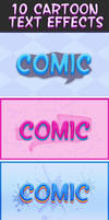 Cartoon Text Effects 4 by Lyova12