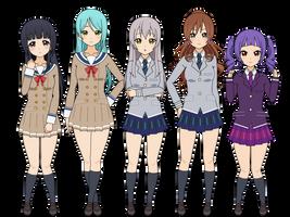 Roselia , kisekae exports character  code by sunnyDg