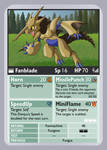 KDTTCG - Fanblade Evo Card by RacieB