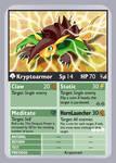 KDTTCG - Kryptoarmor Evo Card by RacieB