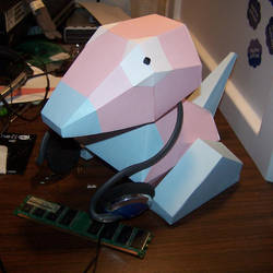 Paper Porygon by RacieB