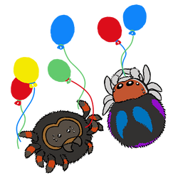 Spider Activities - Ballooning by RacieB