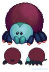 Squishable Pinktoe Tarantula by RacieB