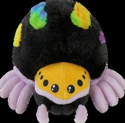 Mini Squishable Rainbow Jumping Spider by RacieB