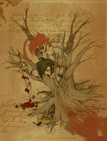 Dead trees by andrael