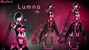 MMD model - Kuroyu-styled Lumna (DL) by CherryRoseC